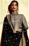 Party wear Pakistani salwar kameez patterns with parallel shape style NAKCOL3032E