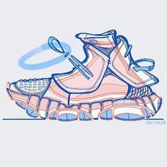 Shoe Sketches, Fashion Sketches, Copic, Robot Leg, Sneakers Sketch, Industrial Design Sketch, Sports Wallpapers, Cartoon Art Styles, Nike Shoes Outlet