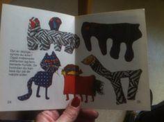 dyr i filt / tekstil