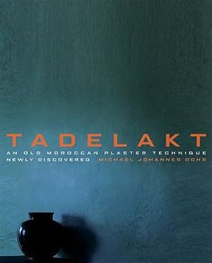 TADELAKT - Nearly waterproof lime plaster