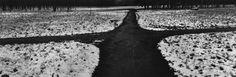 Josef Koudelka - FRANCE. Paris. Bois de Vincennes. 1987. Xpan. Magnum Photos, City Photo, Sidewalk, Branding, France, Paris, Film, Architecture, Photography