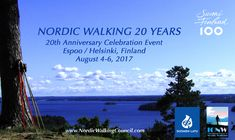 Events   ICNW Nordic Walking, 20th Anniversary, Helsinki, Cross Training, Finland, South Africa, Events, Teaching, World