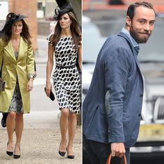 Celebrity Siblings You Probably Didn't Know About | Kate, Pippa, and James Middleton | Do we even have to explain? Kate is the very stylish Duchess of Cambridge, and her younger sister, Pippa, gained worldwide notoriety as quite possibly the hottest maid of honor in history. They have a younger brother named James, who owns a cake company......