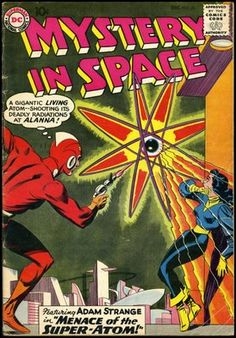 Mystery  in  Space  #  56  featuring Adam  Strange  (  December  1959  )