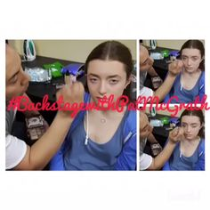 A video of all my entries in the #BackstagewithPatMcGrath contest.