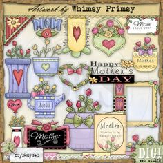 A Mother's Love - Whimsy Primsy Clip Art Download