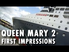 ▶ Queen Mary 2 Celebrations & First Impressions ~ Cunard Cruise Line ~ Cruise Review – PopularCruising.com