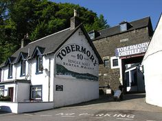Tobermory Distillery in Tobermory - Island of Mull.