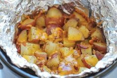 Crockpot Cheesy Ranch Potatoes - Cool Home Recipes