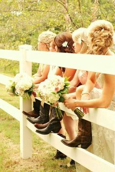 I love the idea of a country wedding like this but I don't think its right considering i'm not southern