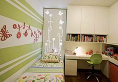kids room decorating ideas and bright room colors
