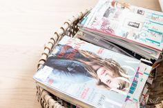 white decor magazines