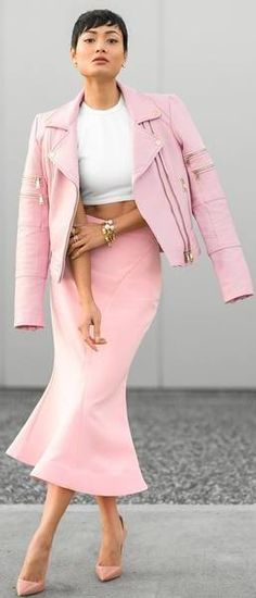 Pink Kinda Day / Fashion By Micah Gianneli