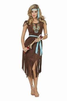0440b37bdbb29f Indianen dame lang is een luxe uitvoering indianen kleding dames
