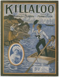 """Killaloo"" 1915 #sheetmusic #irish #1915 #boat #river"