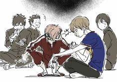 Manga Anime, Anime Art, Gintama, Nalu, Comedy Anime, Okikagu, Cute Art Styles, Romance, Asuna