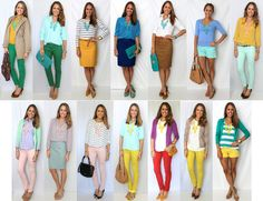 Js Everyday Fashion: Todays Everyday Fashion: Ways to wear a bib necklace
