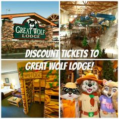 Discount Tickets to Great Wolf Lodge: Save at least 30%!