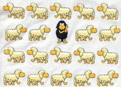 Some nights, counting sheep just does not work. Black Sheep Of The Family, Frases Humor, Counting Sheep, Humor Grafico, Insomnia, Make Me Smile, Funny Animals, Graffiti, Funny Pictures