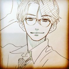 Manga Hirunaka no Ryuusei - Shishio Satsuki / Yamamori Mika´s sketch - Anime Drawings Sketches, Anime Sketch, Manga Drawing, Manga Art, Cute Drawings, Manga Anime, Anime Art, Got Anime, Anime Guys