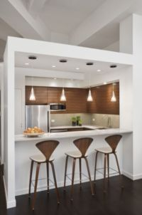 Small Kitchen Ideas Bedroom Decorating with Bars