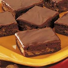 Fudgy Peanut Butter Brownies
