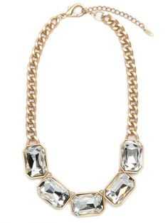 This necklace is AWESOME! It's the perfect sparkly add-on for any outfit... goes with everything!