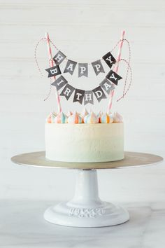 Pink Velvet Birthday Cake