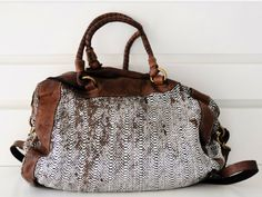 Fab Bag, Earth Shoes, Beautiful Bags, Purses And Handbags, Leather Bag, Army Surplus, Shoe Bag, My Style, Tweed