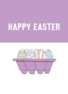 Easter Eggs Easter Card