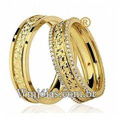 Alianças de casamento com diamantes Alianças De Noivado, Tendências Para  Casamento, Coisas De Casamento 4885143491
