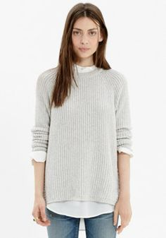 Tracklist Side-Zip Pullover from madewell. Same deal. Perfect; wrong color.