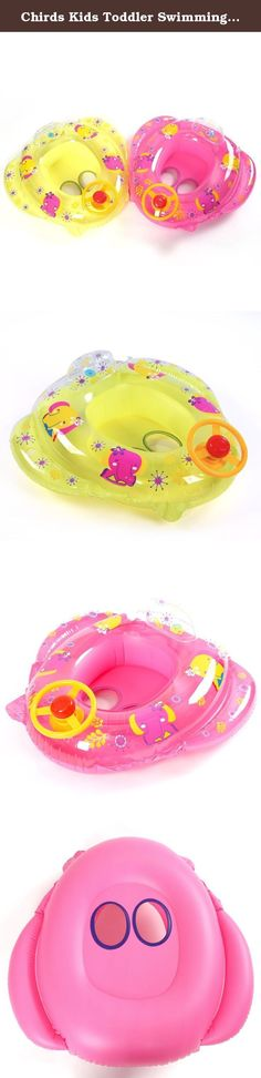 Chirds Kids Toddler Swimming Seat Float Ring Car Infant Inflatable Safety Aid Trainer Fun Water Toy 3-5Y. Features: 100% brand new and high quality Safe for your kids in the water Good Strength And Flexibility,Car shape with lovely Elephants design, Come with steering wheel Durable and with great buoyancy support Great For Use As A Swimming Aid to Those 3-5 Years Kids Specifications: Material: 0.18mm PVC Colour: Color like Red, pink, yellow, purple,rose red and so on...(PLS understand…