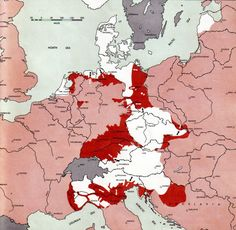 Territories held by Germany on 1st May, 1945. [[MORE]]Original source: Atlas of the World Battle Fronts in Semimonthly Phases to August 15 1945. It contains the military situations every two weeks from July 1943 to the end of war from both European...