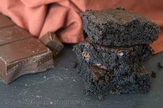Sinfully Dark Chocolate Brownies