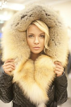 Nice Fur hood