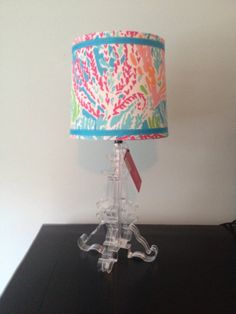Lilly Pulitzer Let's Cha Cha Lamp Shade ONLY by JunctionPetticoat, $49.95
