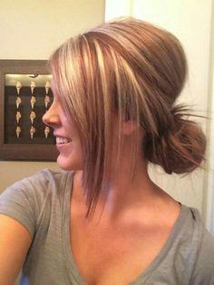 Super Hair Color Auburn Highlights Low Lights 35 Ideas - All For Hair Color Balayage Hair Color Auburn, Hair Color Highlights, Auburn Highlights, Low Lights And Highlights, Red Low Lights, Blonde With Red Highlights, Auburn Balayage, Chunky Highlights, Silver Highlights