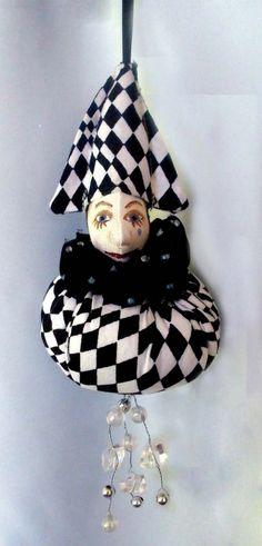 PIERROT MAUBLE  Bambole Original by michelledolls on Etsy, $11.00