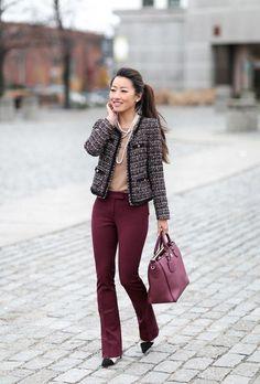 Ideas de look de oficina. Lo mejor de Street Style