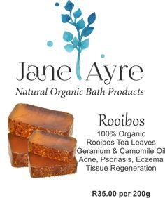 Rooibos 100% Organic Soap