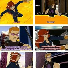 Hawkeye you are so cute and funny