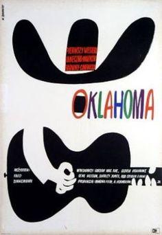 Oklahoma by Witold Janowski, 1964. (Polish)