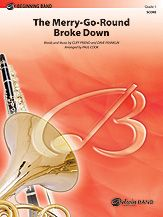 Merry-Go-Round Broke Down, The arr. Paul Cook  J.W. Pepper Sheet Music - Very Easy (occasiional accidentals, Trumpets to high c, Clarinets stay below break, Percussion just quarter and eighth)