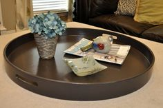 Perfect for large ottomans!  Color: Dark Brown Benjamin Moore's Bittersweet…
