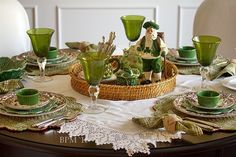 St. Patrick's Day Table Top..