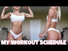 My NEW Workout Schedule, Body Update, & GLUTE Workout