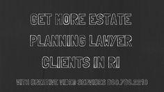 Creative video marketing in RI - estate planning lawyer marketing in Rho. Lawyer Marketing, Business Marketing, Marketing Videos, Creative Video, Rhode Island