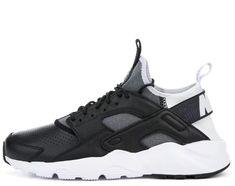 pretty nice 50814 5e426 Nike Air Huarache Run Ultra SE Shoes 10.5 Black Gray White  130   eBay Grey  Nikes