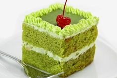 Green Tea Layer Cake